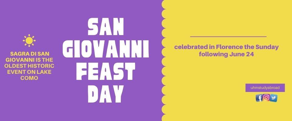 San Giovanni Feast Day