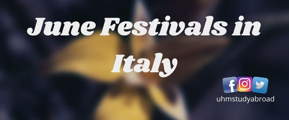 June Festivals in Italy