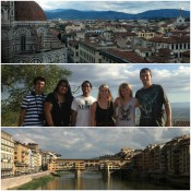 Scenic views of Florence, Italy.