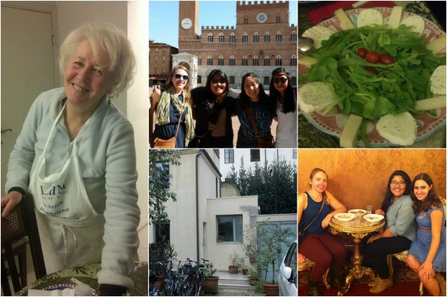 University of Hawaii at Manoa students in Florence, Italy