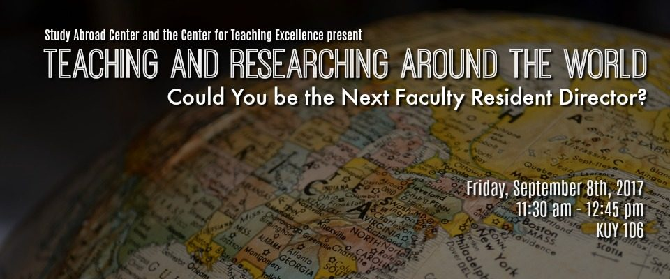 teaching & researching ard the world 2017a